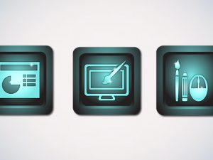 Button design for web