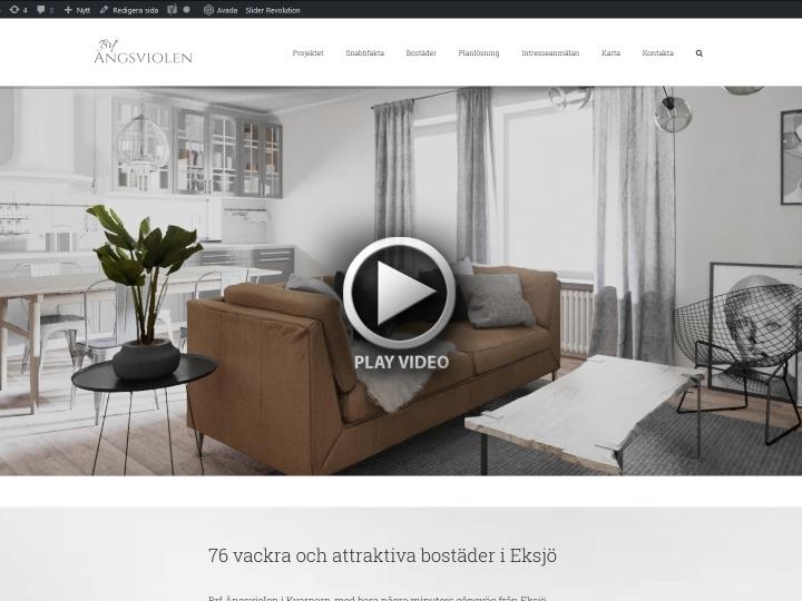 Brf Ängsviolen homepage video