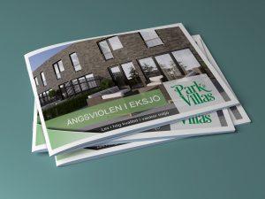 Real Estate brochure Park & Villas