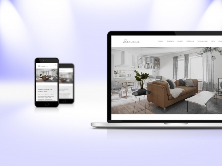 Mockup responsive website – laptop and phone