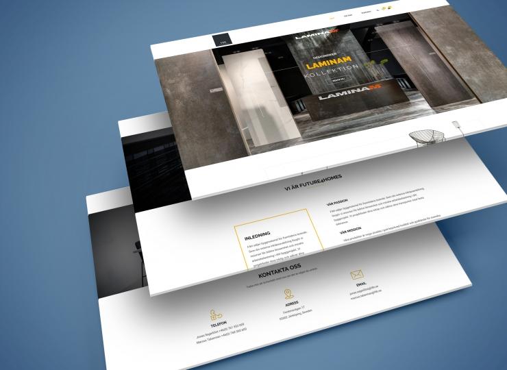 Web Screens Perspective PSD Mockup3