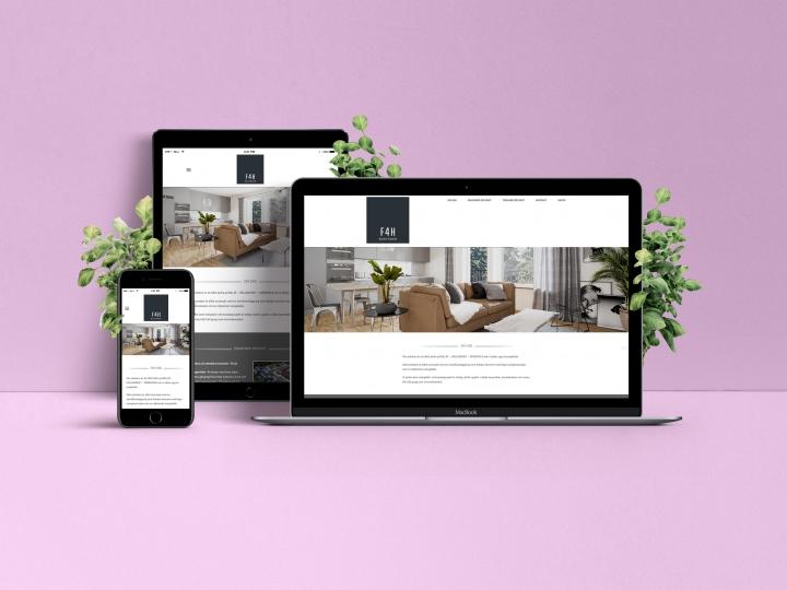 Homepage F4H Bostäder