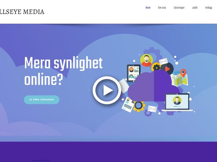 Homepage video - Bullseye Media