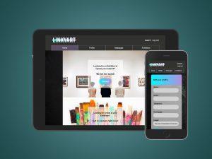 Homepage Linkyart